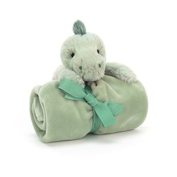 JellyCat Jelly Cat Puffles Dino Soother