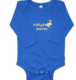 Sidetrack Sidetrack Long Sleeve Boston Ducklings Bodysuit