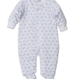 kissy kissy Kissy Kissy Baby Trunks Print Footie with Zipper *more colors*