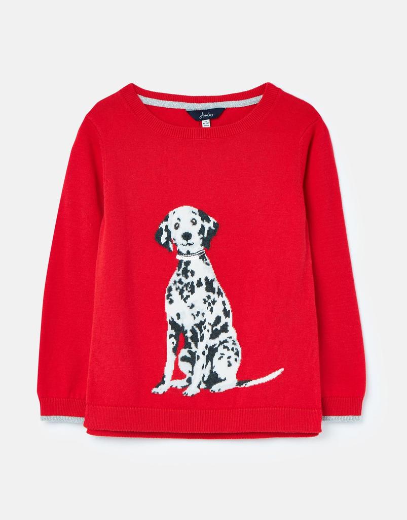 Joules Joules Miranda Dalmation Sweater