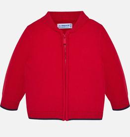 Mayoral Mayoral Basic Knit Zippered Sweater