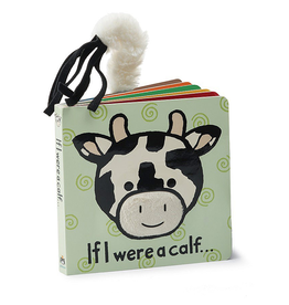 JellyCat Jelly Cat If I were a Calf Book