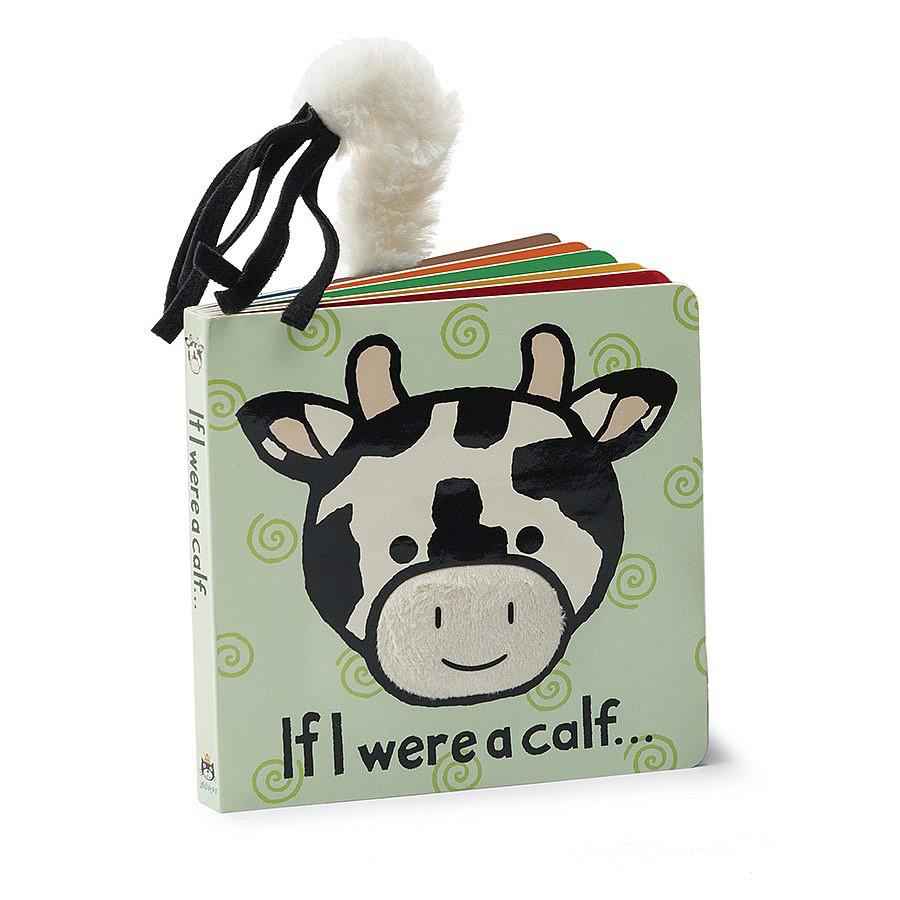 JellyCat Jelly Cat If I were a Calf Book