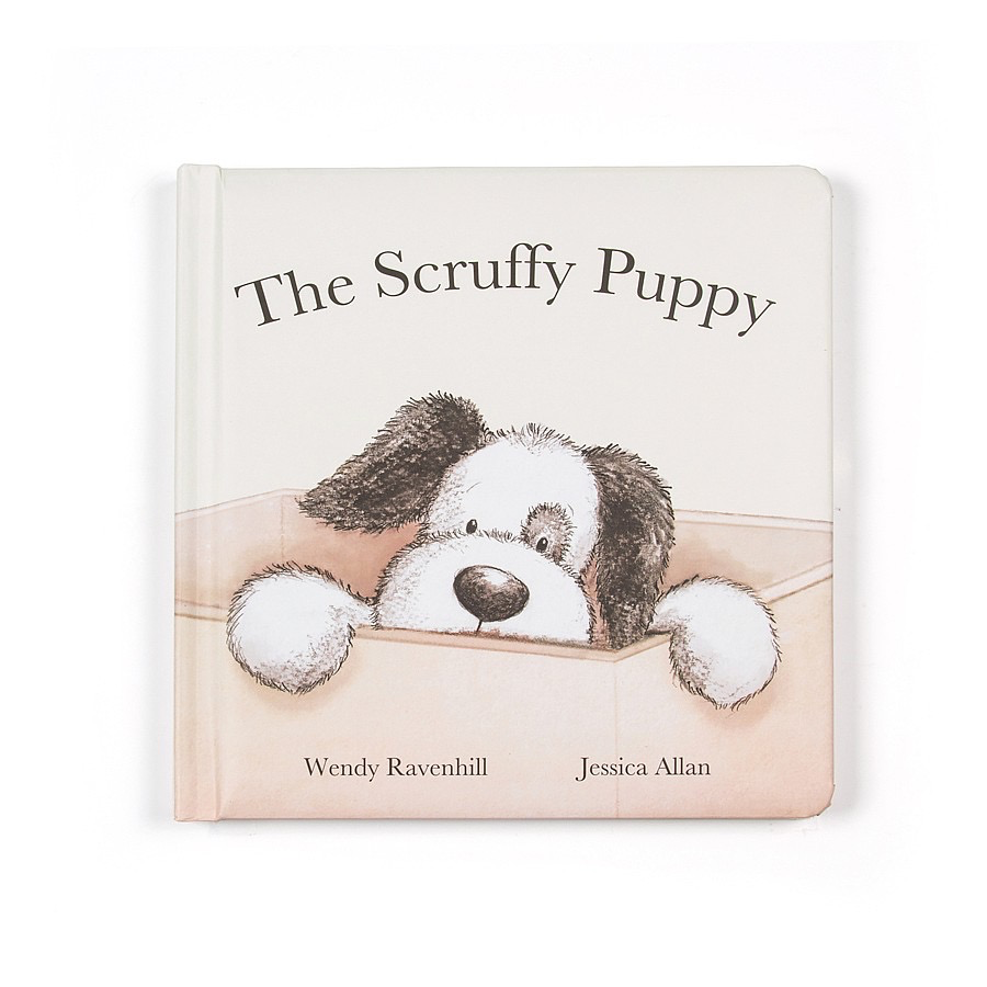 JellyCat Jelly Cat Scruffy Puppy Book