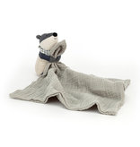 JellyCat Jelly Cat Little Rambler Badger Soother