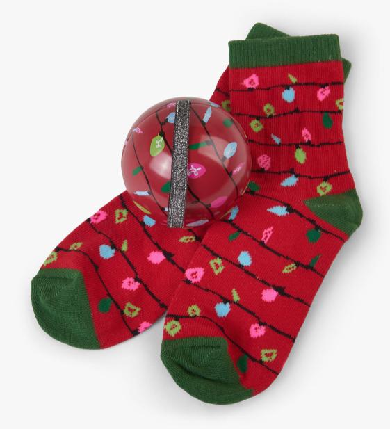 Hatley Sock & Ornament 4-7 years- final sale