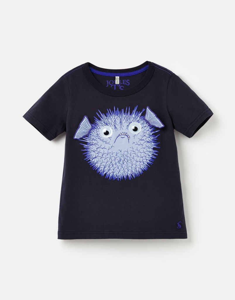 Joules Joules Archie Puffer Fish Shirt