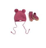 Egg Egg Audrey Hat and Bootie Set