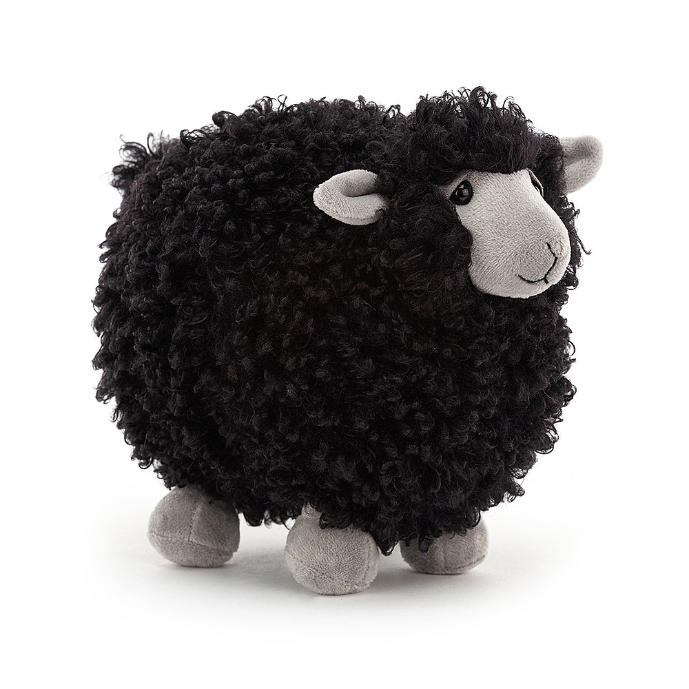 JellyCat Jelly Cat Rolbie Black Sheep Small