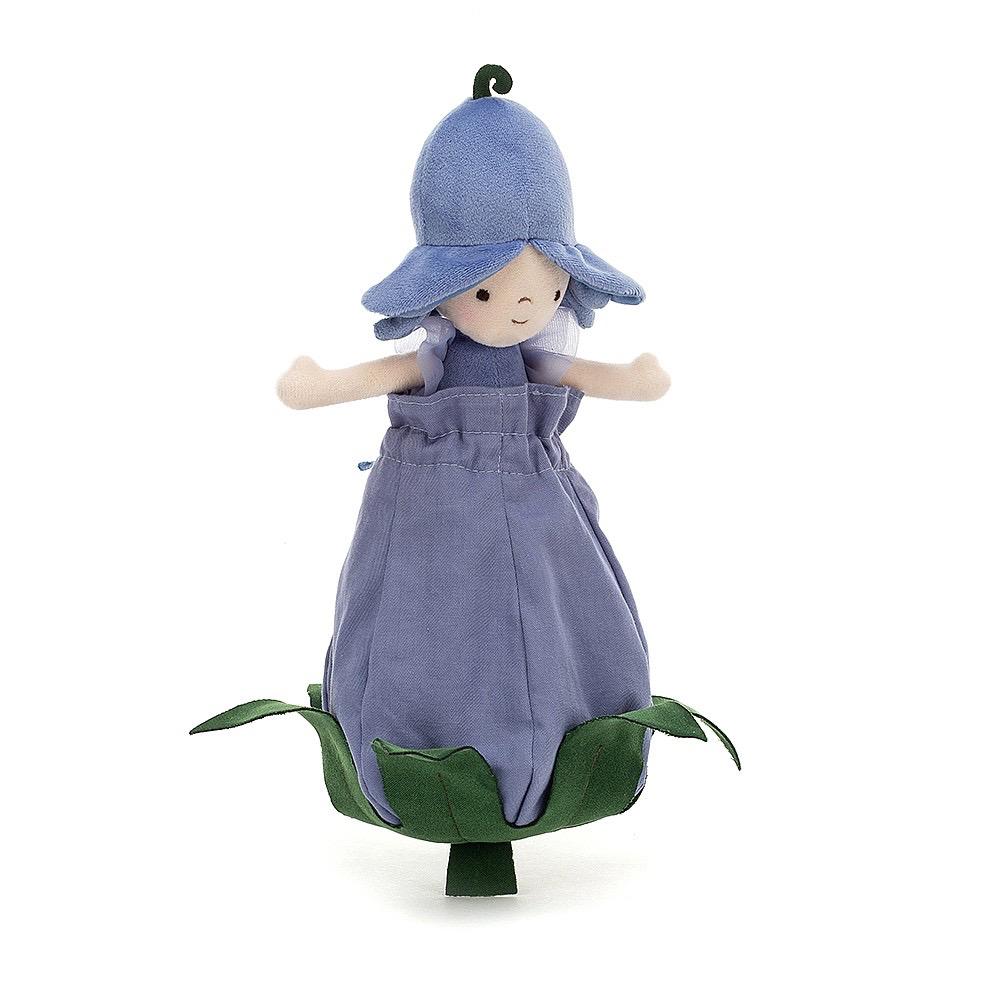 JellyCat Jelly Cat Bluebell Petalkin Doll