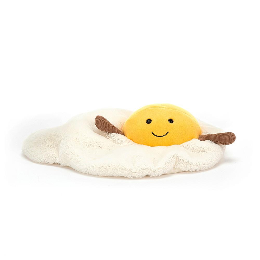 JellyCat Jelly Cat Amuseable Fried Egg