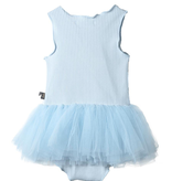 Petite Hailey Petite Hailey Star Baby Tutu Onesie Sky Blue