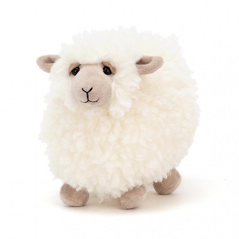 JellyCat JellyCat Rolbie Cream Sheep Small