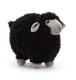 JellyCat JellyCat Rolbie black Sheep Medium