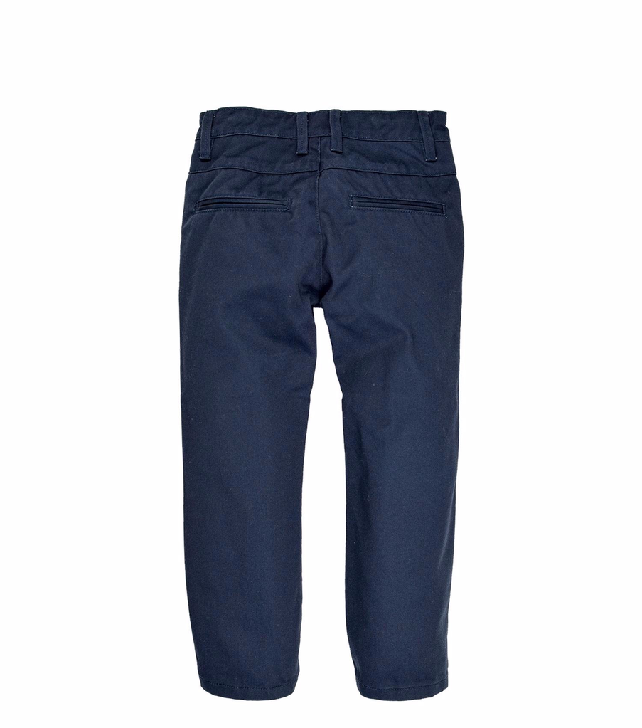 Tooby Doo Chino Slim Fit Pants - Navy