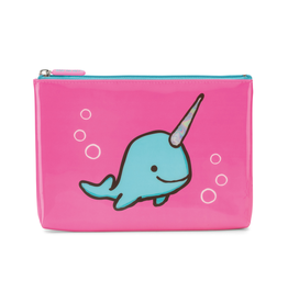 JellyCat Jelly Cat Seas The Day Fuchsia Novelty Large Pouch