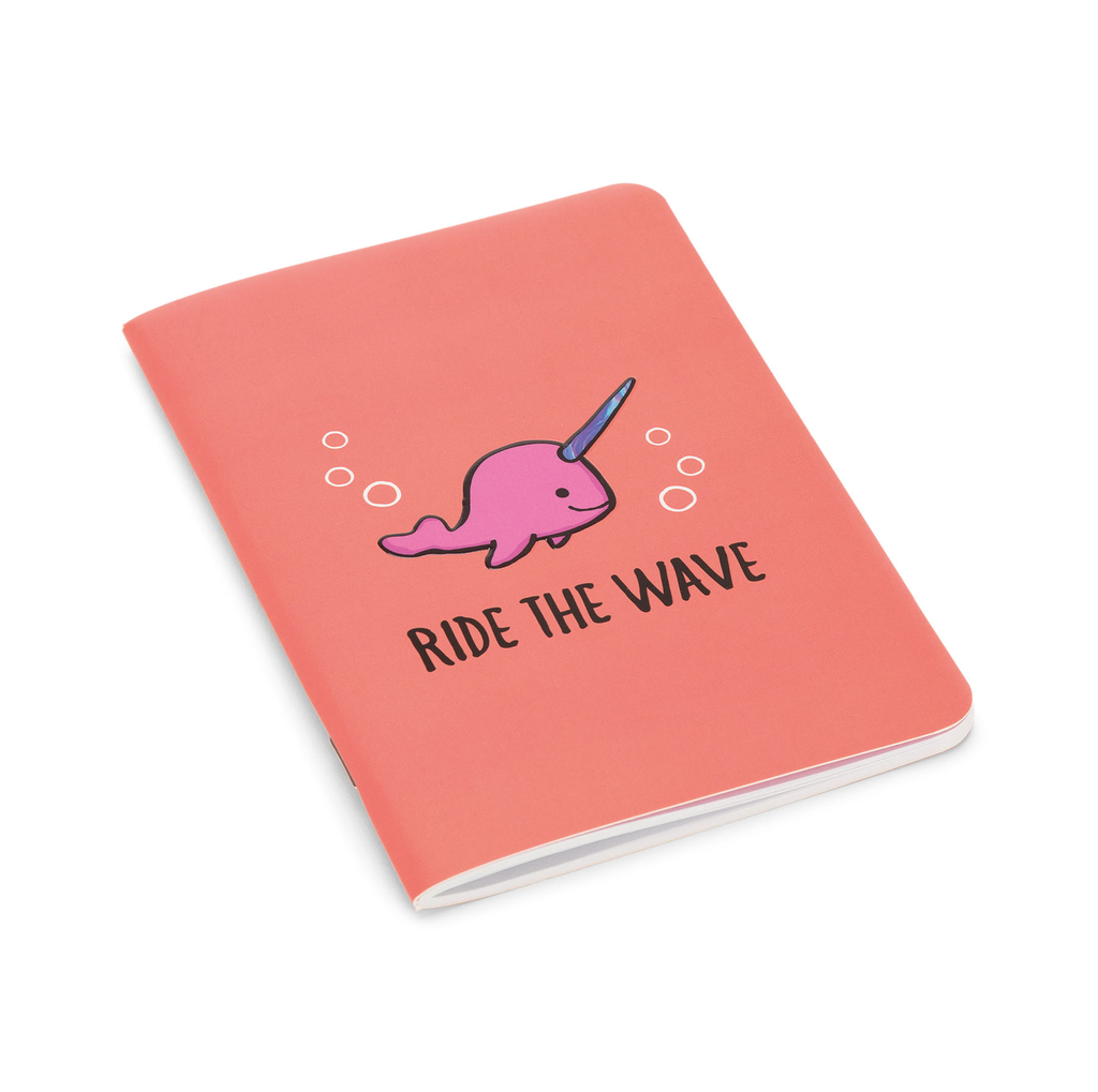JellyCat JellyCat Seas The Day Coral Notepad Mini