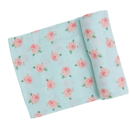 Angel Dear Angel Dear Petite Rose Muslin Blanket