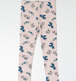 Petite Hailey Petite Hailey Multi Mermaid Legging Pink