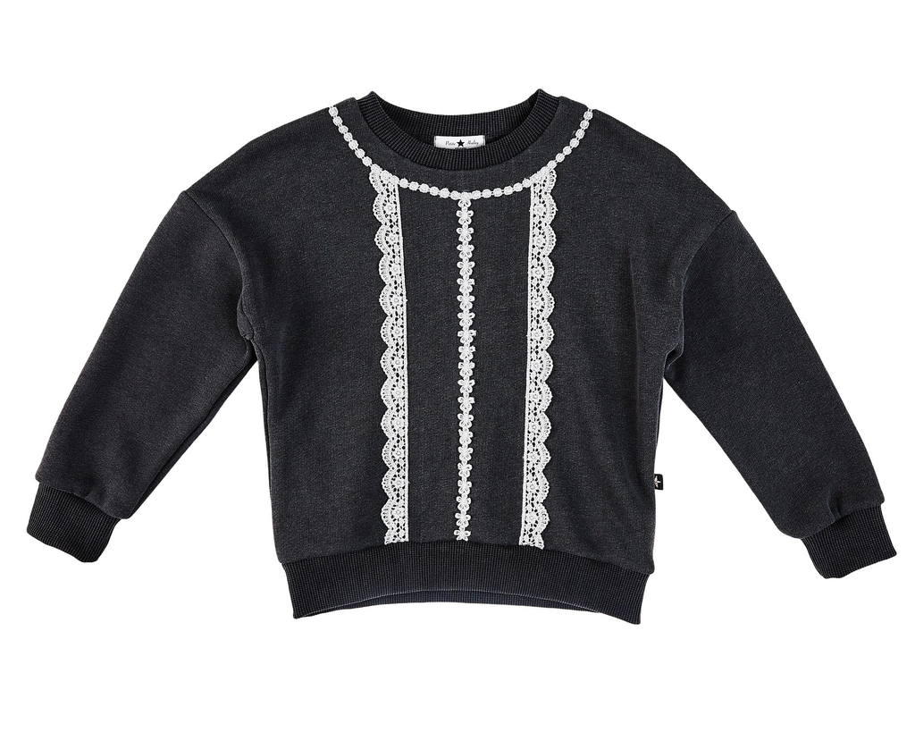 Petite Hailey Petite Hailey Lace Sweatshirt