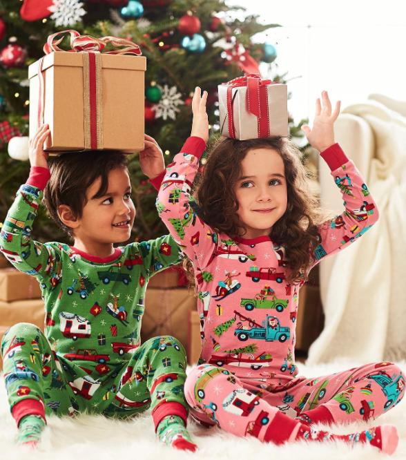 Hatley Retro Christmas PJ Set- 2 colors