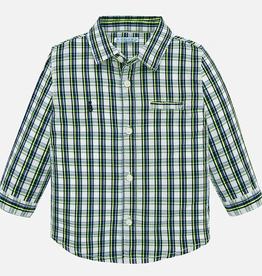 Mayoral Mayoral Long Sleeve Checked Shirt - BROO87075