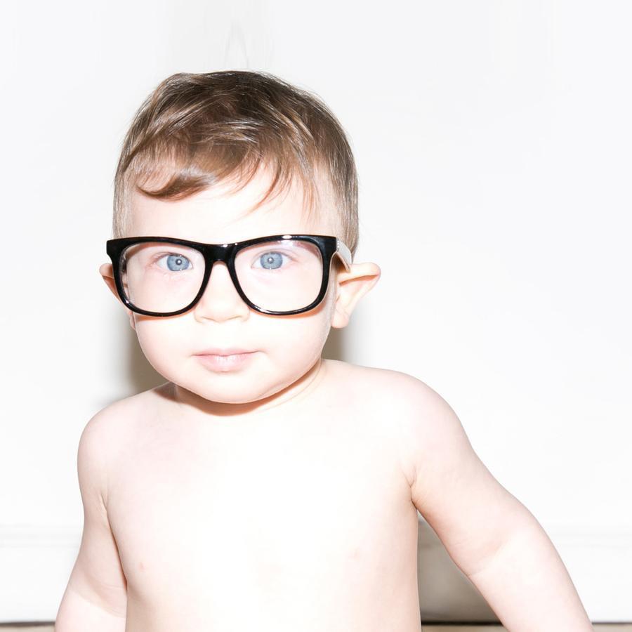 Fctry UVA/ UVB Sunglasses- Clear Black
