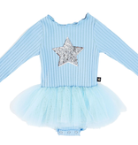 Petite Hailey Petite Hailey Baby Blue Star Tutu Onesie