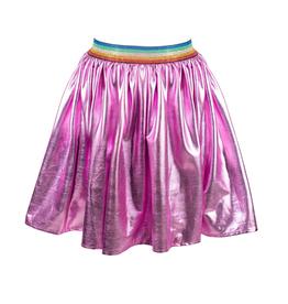 Lola & the Boys Lola & the Boys Rainbow Foil Skirt