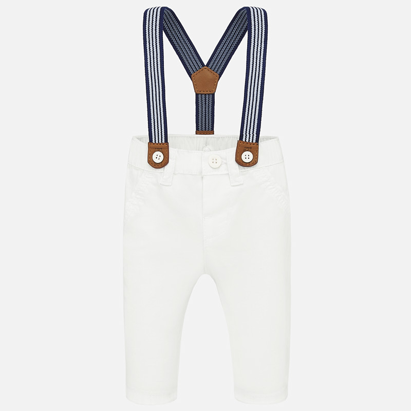 Mayoral Mayoral Trousers with Suspenders
