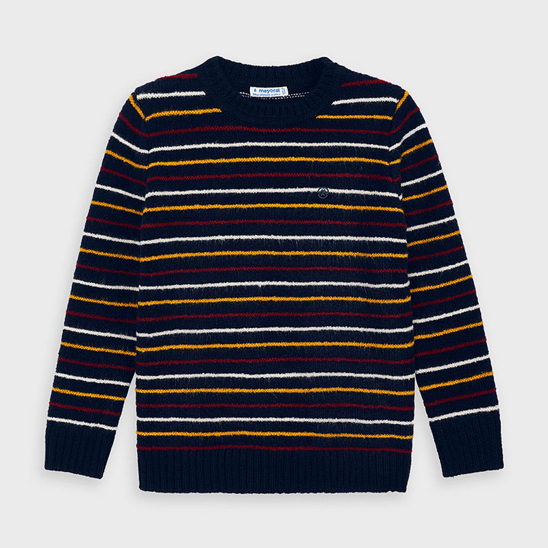 Mayoral Mayoral Striped Sweater - BROO90874