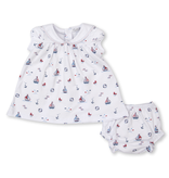 kissy kissy Kissy Kissy Summer Seas Dress Set