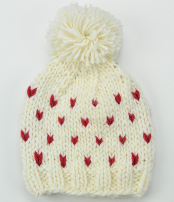 The Blueberry Hill The Blueberry Hill Sawyer Tiny Hearts Beanie