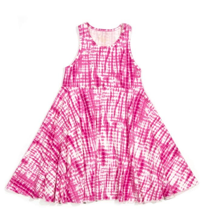Egg Egg Iona Dress Pink Print