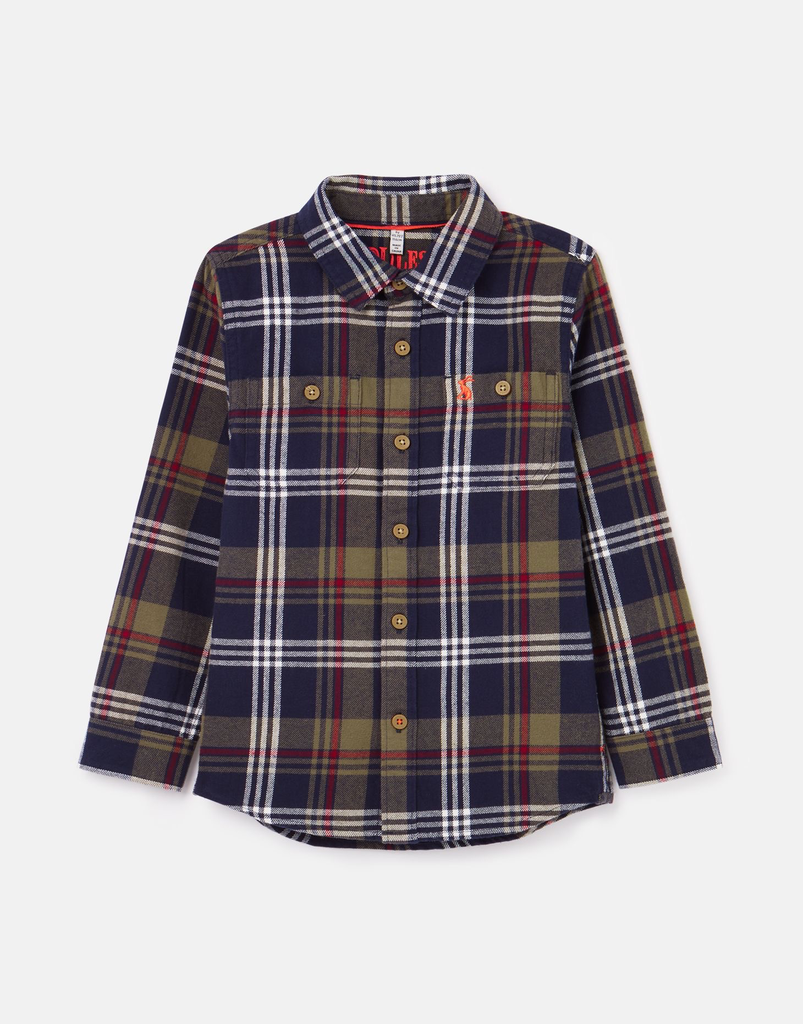 Joules Joules Hamish Brushed Check Shirt - BROO94297