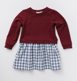 Thimble Thimble Sweatshirt Dress - BROO91293