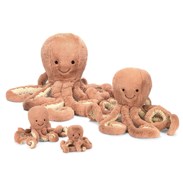 JellyCat Jelly Cat Odell Octopus Baby