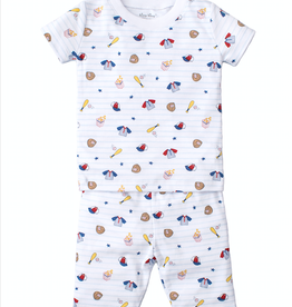 kissy kissy Kissy Kissy Ball Park Short PJ Set