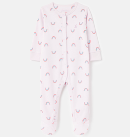 Joules Joules Rainbow Cotton Jersey Footie