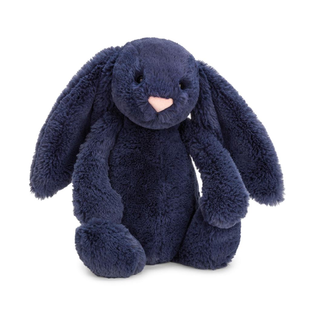 JellyCat JellyCat Bashful Navy Bunny Medium