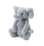 JellyCat Jelly Cat Bashful Gray Elephant Small
