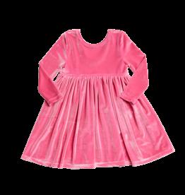 Pink Chicken Pink Chicken Steph Velour Dress - Pink