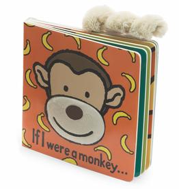 JellyCat JellyCat if I were a Monkey Book