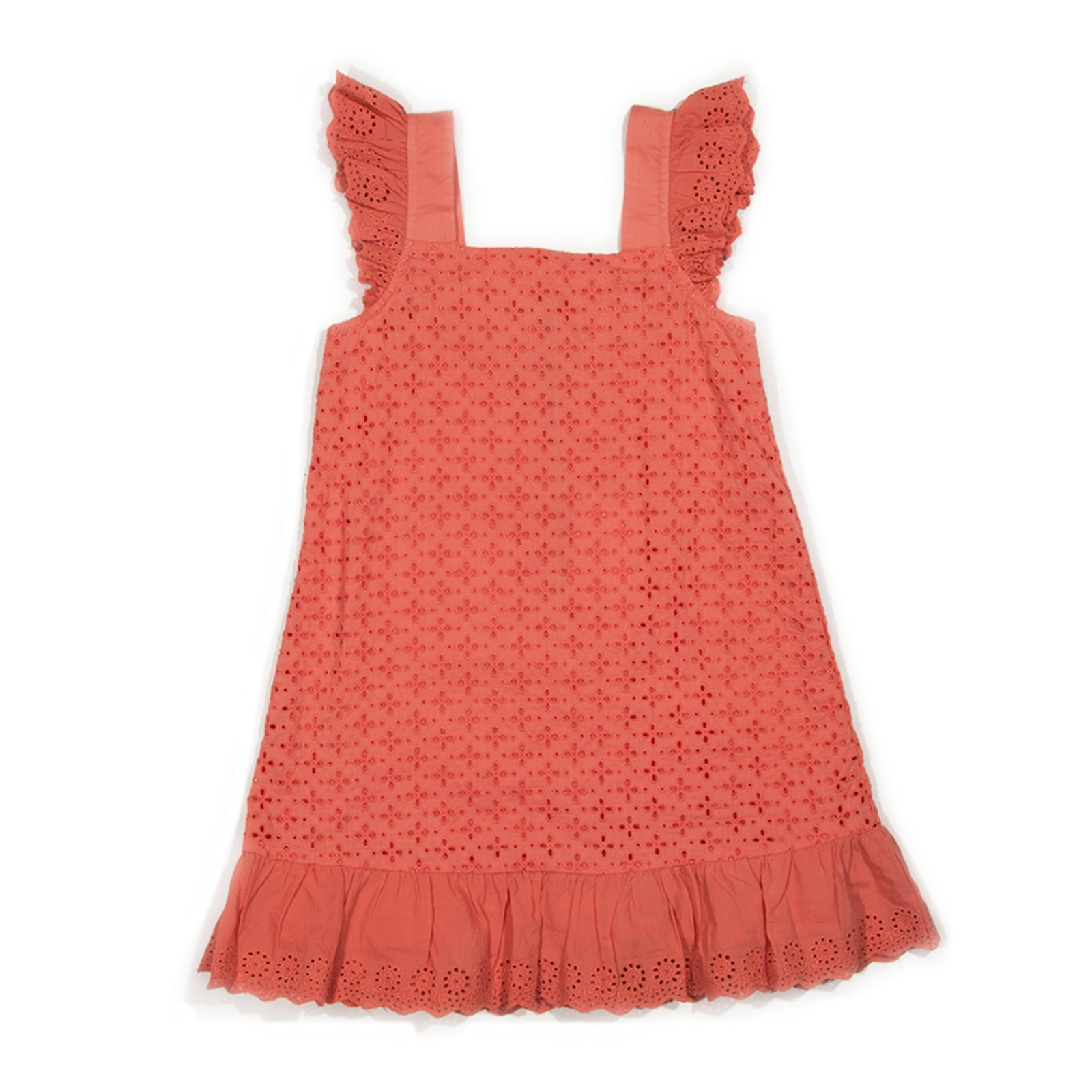 Egg Egg Eyelet Emmy Dress