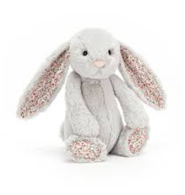 JellyCat Jelly Cat Blossom Silver Bunny Medium