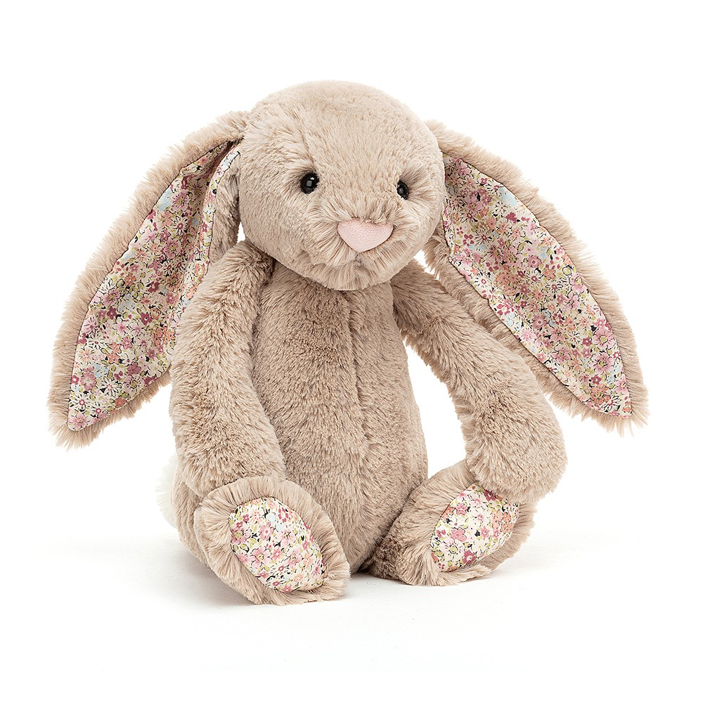 JellyCat Jelly Cat Blossom Beige Bea Bunny Medium