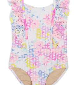 Shade Critters Shade Critters Floral Eyelet One Piece