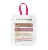 Rockahula Retro Acrylic Bar Slides- Dusty Pinks