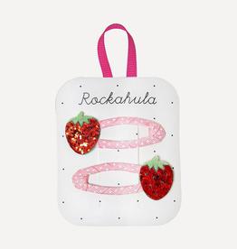 Rockahula Sweet Strawberry Glitter Clips