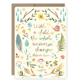 Whole Universe New Baby Card